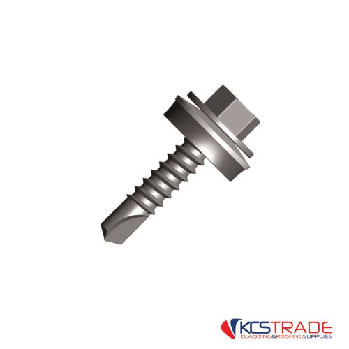 8mm hex head light steel fixing tek screws